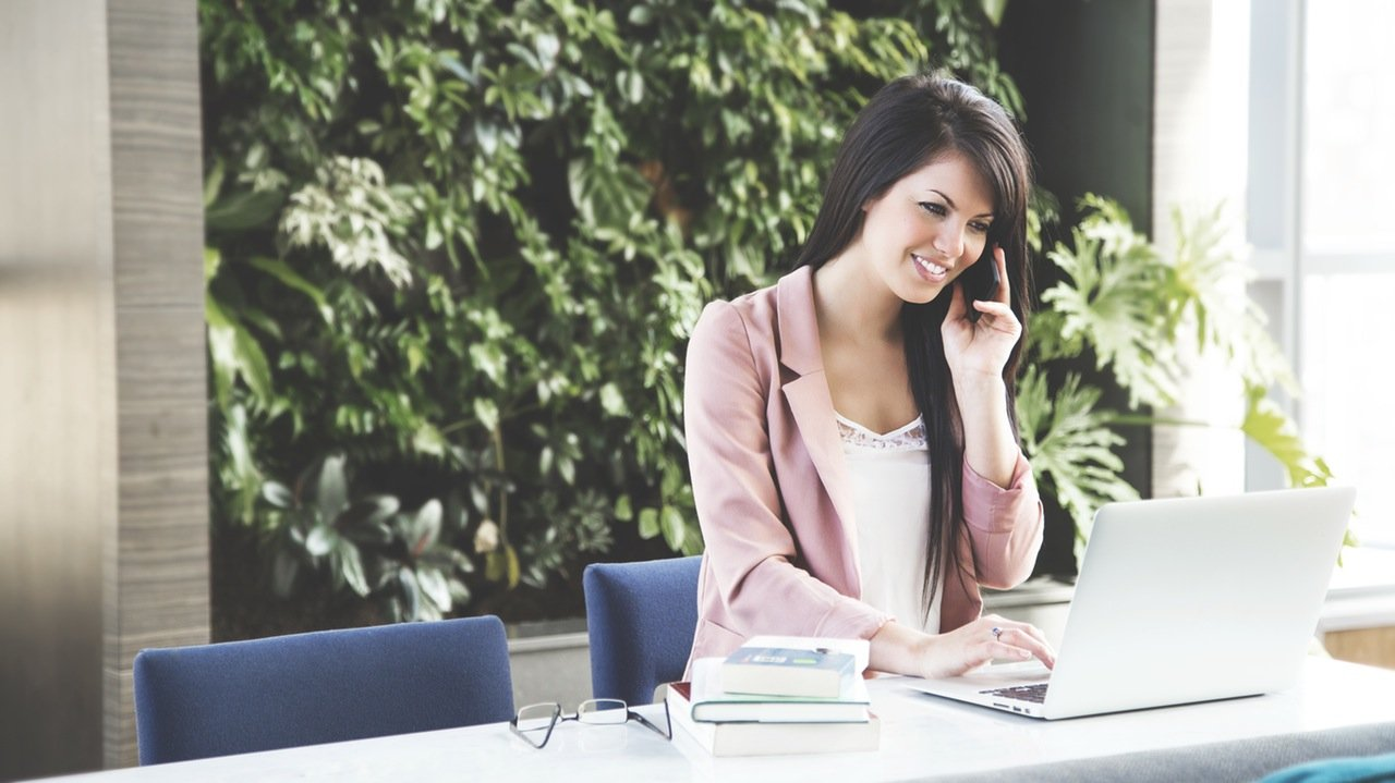 Smile when you're returning phone calls